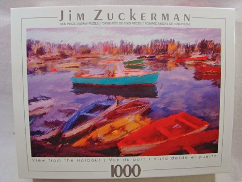 Jim Zuckerman 1000 Piece Jigsaw Puzzle: View From the Harbour - 1