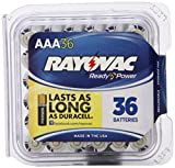 Rayovac Alkaline Pro-Pack AAA Batteries, 824-36PPF