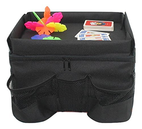 Car-Backseat-Organizer-for-Kids-with-Tray-for-Travel-and-Road-Trip-Accessories-Includes-Cup-Holders-and-Convenient-Mesh-Pockets-on-3-Sides