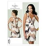 Vogue Patterns V1286 Size A5 6-8-10-12-14 Misses' Dress