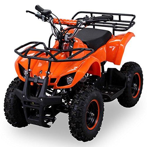 Actionbikes-Miniquad-Torino-pour-enfants-49-cc-Moteur-2-temps-Orange