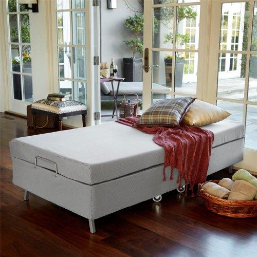 Sleep Revolution Resort Premier Memory Foam Folding Guest Bed, Twin