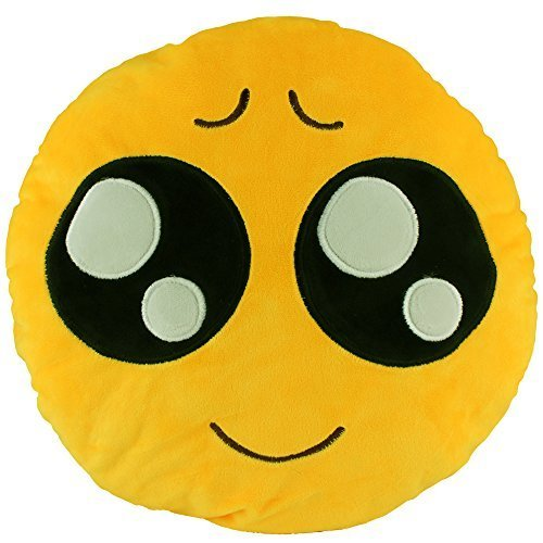 138-emoji-eager-emoticon-round-cushion-pillow-stuffed-plush-soft-toy-gift