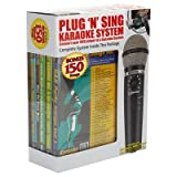 Emerson Plug 'N' Play Karaoke Microphone System with 150-Song DVD (MM221)