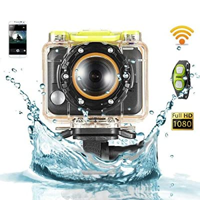 Full HD 5MP 1080P Waterproof 60 Meters Sport Camera Wifi Outdoor
