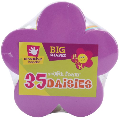 Foam Shapes 35/Pkg-Daisies