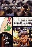 echange, troc Coffret Lelouch, années 90-2000 : Les parisiens / Tout ça pour ça / Les misérables