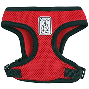 RC Pet Products Cirque Soft Walking Dog Harness: XSmall Red