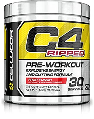Cellucor C4 Ripped Cherry Limeade 6.34 oz 30 Servings