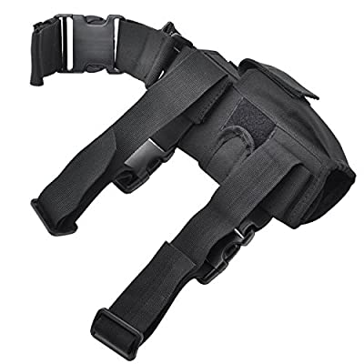 Multi-color Tactical Army Black Pistol/gun Drop Right Leg Thigh Holster