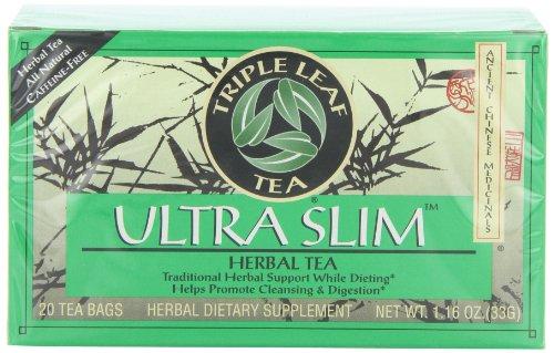 Triple Leaf Tea, sachets de thé, Ultra Slim,
