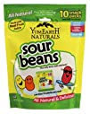 YumEarth Naturals Sour Jelly Beans 10 Snack Packs 20 g Each
