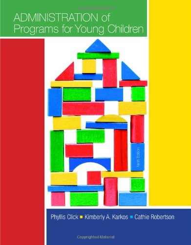 Administration Of Programs For Young Children front-1021662