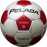 molten(モルテン) ペレーダ3000 [ Pelada3000 ] エントリーモデル 4号球 白+赤 F4P3000-WR