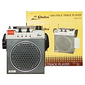 Chelco Deluxe 8 Track Portable AM/FM Tape Player