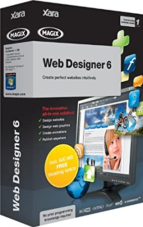 Magix Xtreme Web Designer 6 (PC)