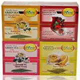 GTEE Green Tea Bags-Chamomile & Green Tea Bags - Lemon & Ginger & Green Tea Bags-Jasmine & Hibiscus Tea Bags (...