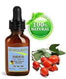 Botanical Beauty Rose Hip Oil - 100% Pure / 100% Natural.. For Face, Hair and Body. 1 oz- 30 ml