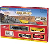 Bachmann Industries Echo Valley Ready To Run DCC Electric Train Set with DCC Sound Locomotive