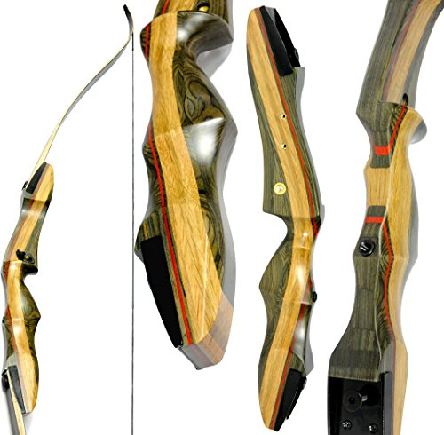 Spyder-Takedown-Recurve-Bow-and-arrow-by-Southwest-Archery-USA-weights-20-25-30-35-40-45-50-55-60-lb-LEFT-or-RIGHT-HANDED-Archery-Kit-Designed-by-Engineers-of-the-Samick-Sage