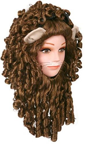 Super Deluxe Lion Adult Costume Wig