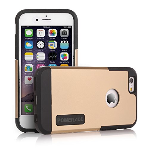 Iphone 6 case poweradd apple iphone 6 case with double for Interior iphone 6