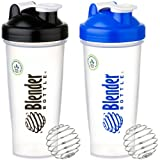 Sundesa Blenderbottle with Blenderball, Pack of 2 (Black, Blue)