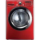 LG 7.4cf Elec SteamDryer Ultra Cap. Red - DLEX3360R