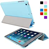 Snugg iPad Mini 1 / 2 / 3 Ultra Thin Smart Case in Baby Blue - Flip Stand Cover with Auto Wake and Sleep for Apple iPad Mini & iPad Mini 2 Retina & iPad Mini 3