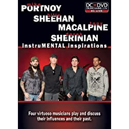 InstruMENTAL Inspirations: Mike Portnoy, Billy Sheehan, Tony MacAlpine & Derek Sherinian