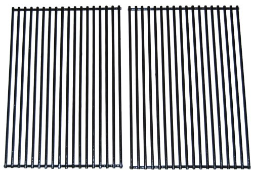 Porcelain Coated Stainless Steel Wire Cooking Grid for DCS and Charbroil Grills (Set of 2)