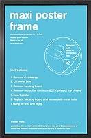 Black Maxi Poster Frame - 61cm x 91.5cm