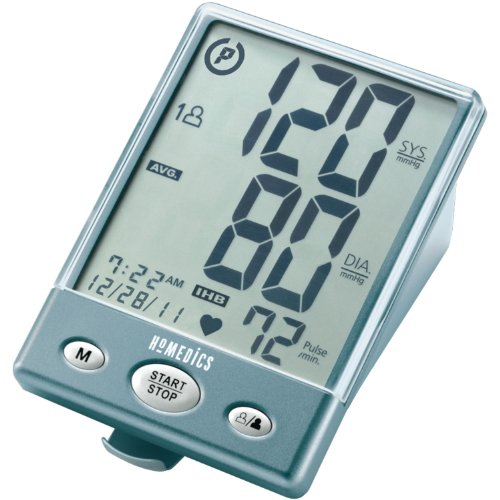 HoMedics BPA-201 Automatic Arm Blood Pressure Monitor with Supersize Digits, Smart Measure Technology, Two Arm Cuffs and Irregular Heartbeat Detector (Homedic Blood Pressure Cuff compare prices)