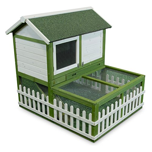 Ware-Rabbit-Hutch-with-Pen-Combo