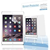 amFilm iPad Mini Screen Protector HD Clear for iPad Mini, iPad Mini 2 and iPad Mini 3 Retina Display(2-Pack) [Lifetime Warranty]