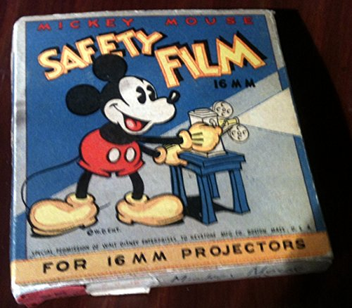 Vintage Mickey Mouse Keystone 16mm Film Box - 1