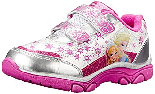 3. Disney Frozen Elsa and Anna Light-Up Sneaker