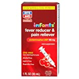 Rite Aid Infants' Fever Reducer & Pain Reliever Dye-Free 1oz