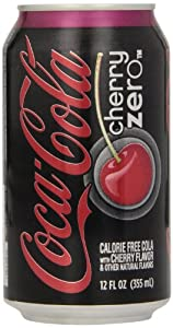 Coca Cola Cherry Coke Zero, 12-Ounce (Pack of 24)