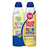 Banana Boat Kids Tear Free UltraMist SPF 50 Twin Pack Twin Pack - 2 Bottles w/6oz each, 12-Ounce Bottle