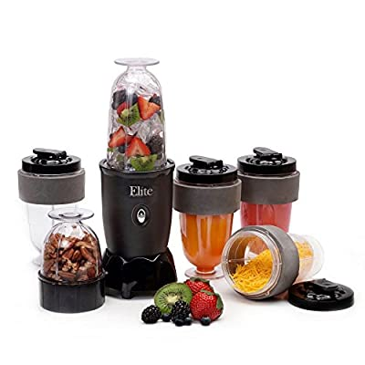Maxi-Matic EPB-1800 Elite Cuisine 17 Piece Personal Drink Blender by Englewood Marketing Group Inc