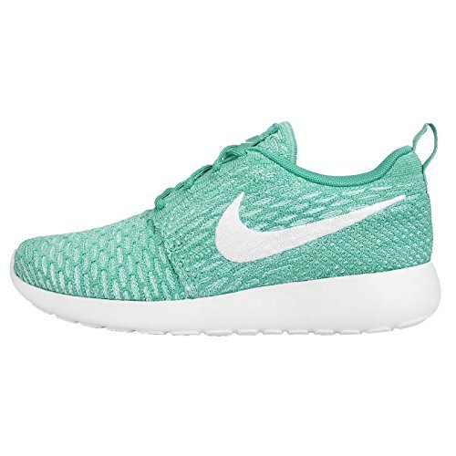 Nike 2015 Women Rosherun Flyknit Fashion sneaker Shoes 704927-300 Sport Turquoise (US 6.5 UK4 Euro 37.5)