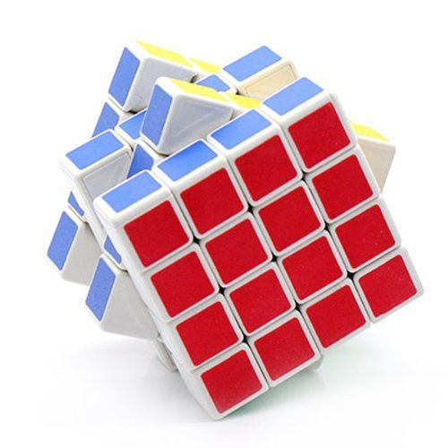 4x4x4 Shengshou Version 5 White Puzzle Speed Cube 4x4 Twisty Smooth New V5 - 1