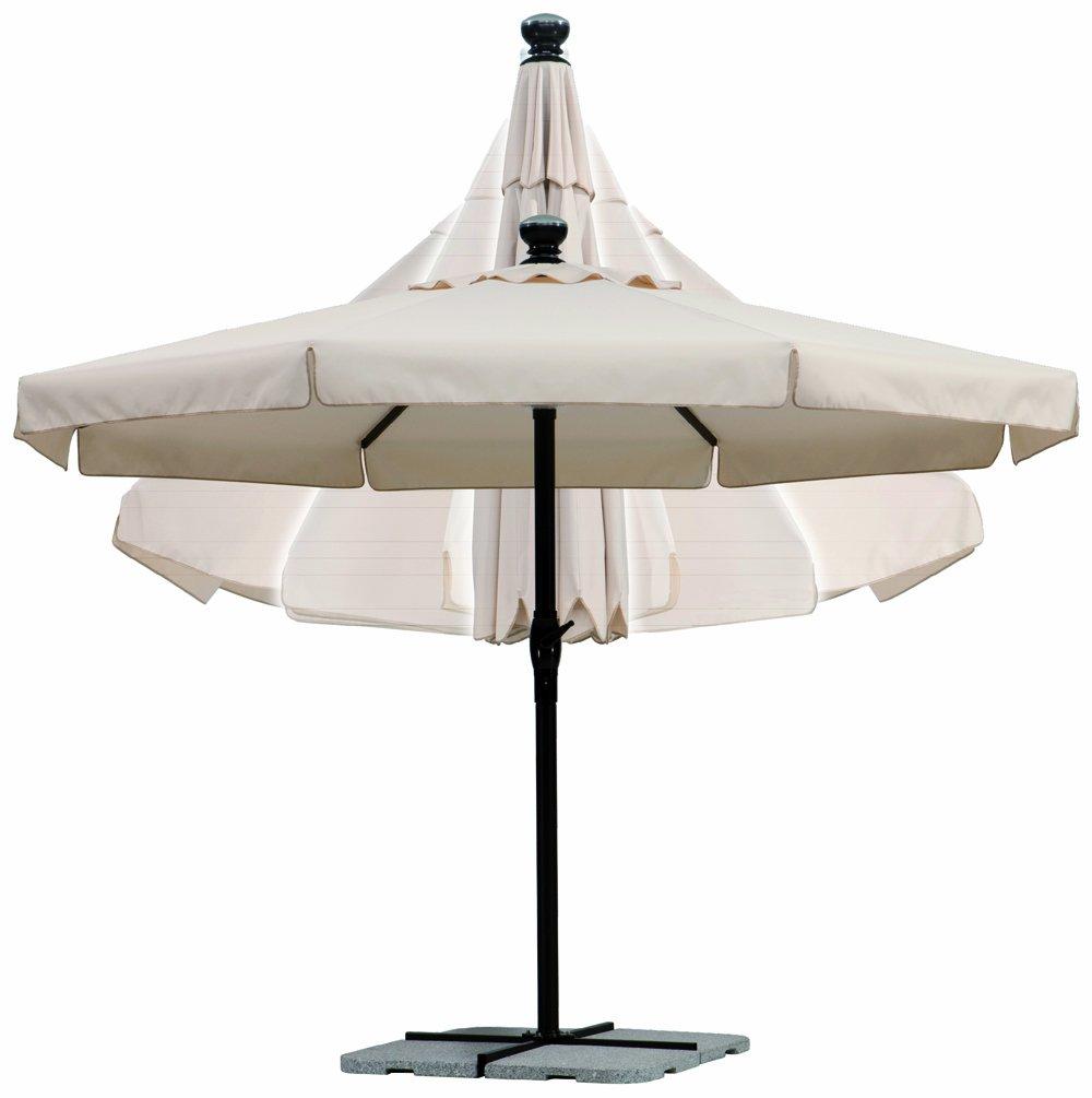 Schneider Sonnenschirm 795-02 PRIMA-TEC ca. 350cm, rund, natur günstig