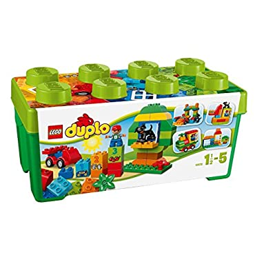 LEGO Duplo 65 Piece All-in-One Box of Fun Kids Building Playset | 10572