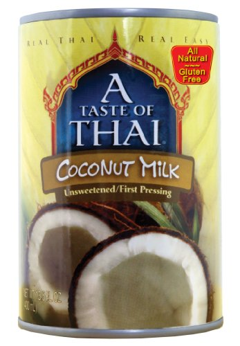 A Taste of Thai Coconut Milk, 13.5-Ounce Cans (Pack of 12) by A Taste of Thai