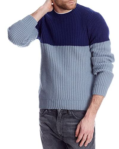 Levi's Strauss Pullover Chunky [Blu Navy/Celeste]
