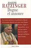 Dogme et annonce