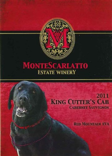 "2011 Montescarlatto ""King Cutter'S Cab"" Red Mountain Cabernet Sauvignon 750 Ml"