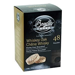 Bradley Technologies Whiskey Oak Special Edition Bisquettes (Pack of 48) from Sportsman Supply Inc.